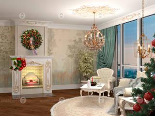 Гостиная : Гостиная в . Автор – Studio Fareni