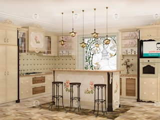 Кухня: Кухни в . Автор – Studio Fareni