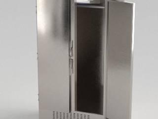 Меховой холодильник, выполненный из нержавеющей стали:  в . Автор – Beauty&Cold,