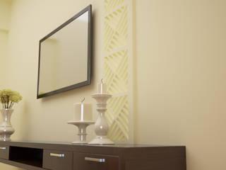 아시아스타일 침실 by Vaibhav Patel & Associates 한옥