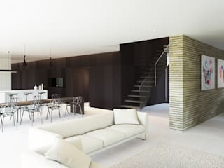 Nately Towers :  Living room by Ayre Chamberlain Gaunt