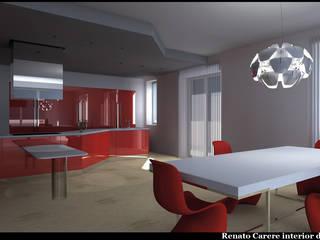 Casa colore Cucina moderna di Renato Carere Moderno