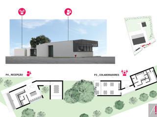 Complexo Industrial por Aurora Fernandes e Helena Alves - Arquitectas Associadas Lda.