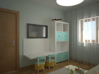 Playroom por Red Centre - Interiors Harmony, by Design