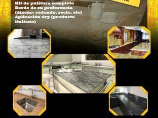 Fabricantes de mobiliarios varios: Empotrado de cocina, granito, silestone, repisas decorativas de Filippo Cucine C.A. Moderno