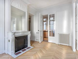 Appartement de 220 m2 - Paris 17e AD9 Agencement Salon moderne