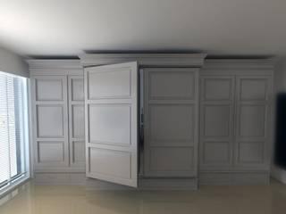 Меховой холодильник, встроенный в стильный интерьер.:  в . Автор – Beauty&Cold