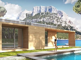 POMP0NI ASSOCIATI SRL Modern houses
