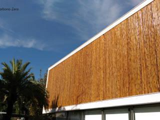 BAMBU CARBONO ZERO Casas de estilo minimalista Bambú Acabado en madera