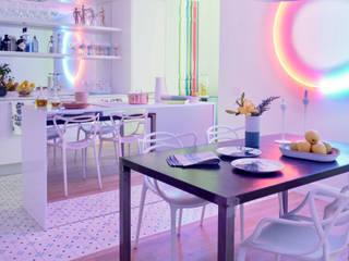 LIENZO EN BLANCO: Cocinas de estilo  de Dimensi-on