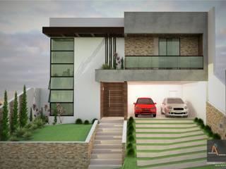 Rumah Modern Oleh Ao Cubo Arquitetura e Interiores Modern