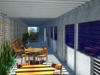 Офисные помещения в тропическом стиле от GR PROJETOS Тропический