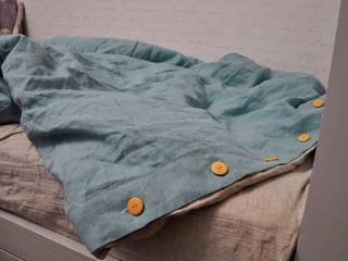 Комплект детского постельного белья «Луна». 100% лен. от Flaxeco Скандинавский