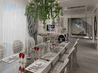 Mimoza Mimarlık Eclectic style dining room