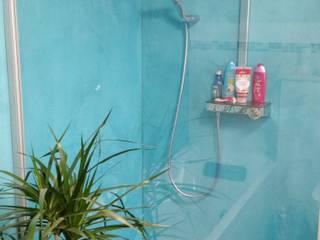 Fugenlose Bäder:  Badezimmer von Malerbetrieb Dirk Borsch