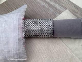 Tecidos Propostos: Salas de estar  por  Rita Salgueiro - Full Ideas
