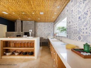 BAMBU CARBONO ZERO Kitchen Bamboo Wood effect