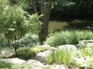 Spiel mit den Elementen Moderner Garten von Ecologic City Garden - Paul Marie Creation Modern