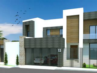 Modern houses by Acrópolis Arquitectura Modern