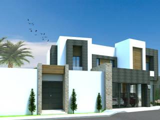 Acrópolis Arquitectura منازل خشب White