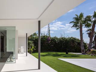 Casa Herrero | 08023 architects Simon Garcia | arqfoto Jardin moderne