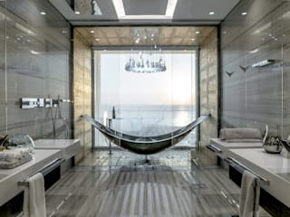 The Island Bathroom :  Bathroom by XYZ Designers