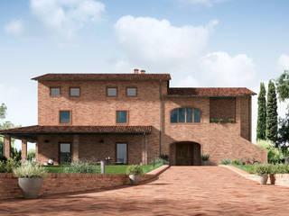 Rimini Baustoffe GmbH Mediterranean style house Concrete