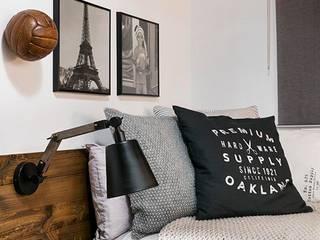 Dröm Living Industrial style bedroom