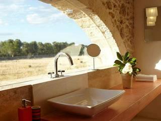 Badezimmer im Landhausstil von D'Astore architettura Landhaus