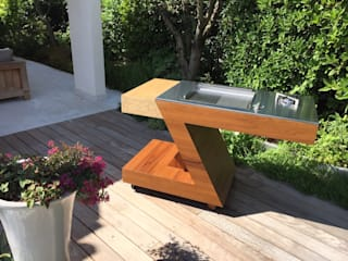 ZED EXPERIENCE versione BBQ:  in stile  di ZED EXPERIENCE - indoor & outdoor kitchen
