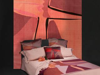 Shadow Kiss Shantung texture wallpaper di Sans Tabù Moderno