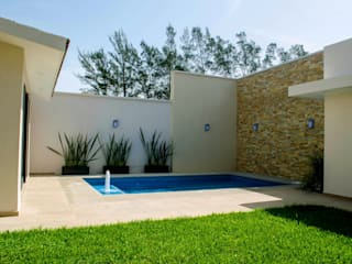 Modern style gardens by ARKOT arquitectura + construcción Modern
