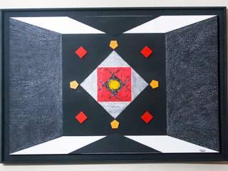 Obras de Arte Randolph Aponte ArteCuadros y pinturas Aglomerado Negro