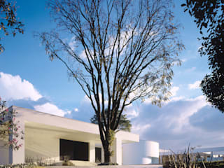 Casa na Pampulha モダンな 家 の Lanza Arquitetos モダン