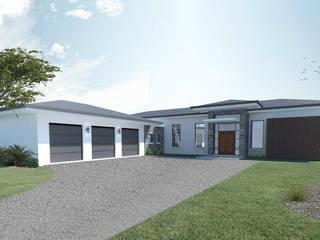 homify 現代房屋設計點子、靈感 & 圖片 磚塊 Grey