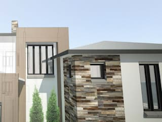 House Mbatsane Modern houses by A4AC Architects Modern