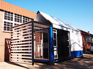 6m x 2.4m Container House:  Houses by A4AC Architects