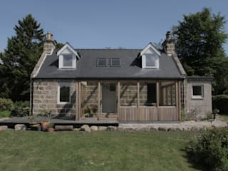 House Extension & Alterations, Aberdeenshire:  Houses by ABN7 Architects