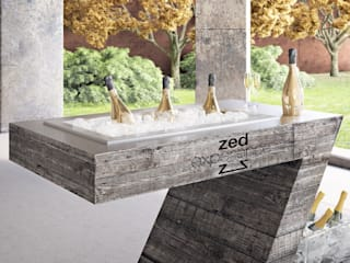 ZED EXPERIENCE versione Wine Tasting:  in stile  di ZED EXPERIENCE - indoor & outdoor kitchen