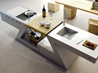ZED EXPERIENCE versione cucina Home: Cucina in stile  di ZED EXPERIENCE - indoor & outdoor kitchen