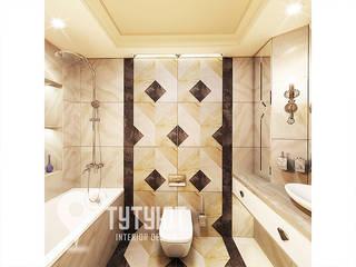 Ванная из мрамора: Ванные комнаты в . Автор – Interior Design Studio Tut Yut