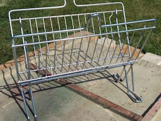 Trolley Magazine Rack:   by KT Metal Design