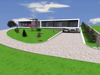Traço M - Arquitectura Maisons modernes Blanc