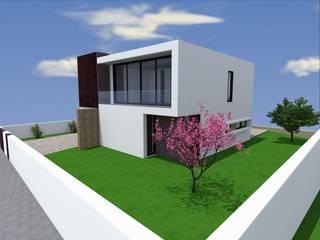 Traço M - Arquitectura Maisons modernes