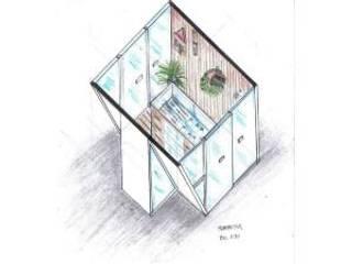Projeto de um quiosque.:   por Cambury Urbanismo e Arquitetura