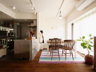 マンションでも・・・ノスタルジーを感じる住まいに: 株式会社スタイル工房が手掛けたです。