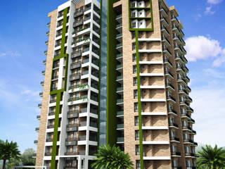 Keystone Apartments for Prime Property Developers at Kowdiar, Trivandrum by Vastushilpalaya Consultancy Pvt. Ltd.