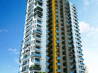 Apartments for MIR Realtors Pvt. Ltd. at Trivandrum, Kerala by Vastushilpalaya Consultancy Pvt. Ltd.