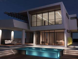 Minimalistyczne domy od Gama Mimarlık Minimalistyczny