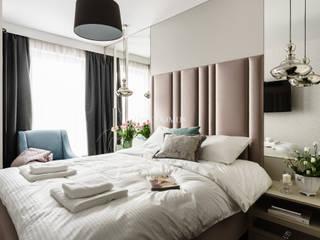 www.urbodomus.pl - Projektowanie i wykańczanie wnętrz.: styl , w kategorii Sypialnia zaprojektowany przez Urbodomus Dariusz Urbaniak
